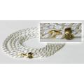 Ринговка O'Cabot Chic бело-золотая, 2,5 мм., 1,25 м.