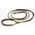 Ринговка O'Cabot Chic коричневая с подкладкой под шею 4 мм., 0,95 м.