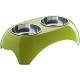 Hunter Smart столик для собак с 2-мя мисками лайм